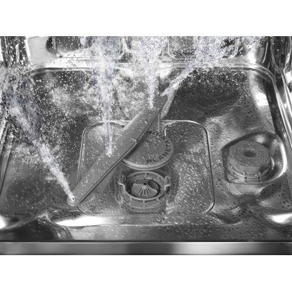 Masina de spalat vase retro Smeg LVFABOR, portocaliu, clasa A+++, 10 programe