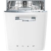 Masina de spalat vase retro incorporabila Smeg ST2FABWH, 60 cm, clasa A+++, alb