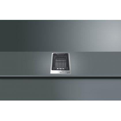 Grill incorporabil Smeg Classic PGF30B, 30 cm