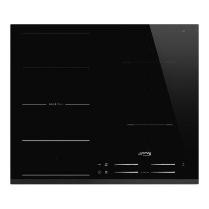Plita incorporabila cu inductie Smeg SI1F7645B, 60 cm latime, negru