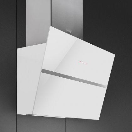 Hota de perete Smeg Linea KCV60BE2, 60 cm, alb
