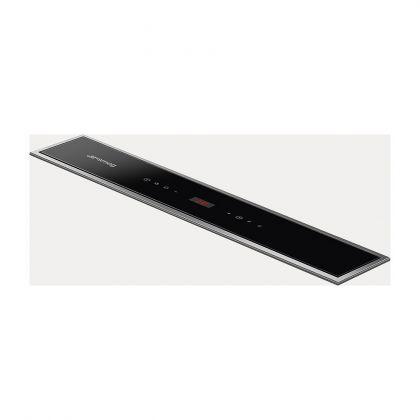 Hota incorporabila de blat Smeg KDD60VXE-2, 60 cm, sticla neagra, touch control