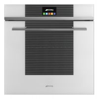 Cuptor incorporabil electric Smeg Linea SFP6104TVB, 60 cm, alb, pirolitic
