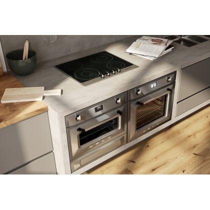 Cuptor incorporabil electric Smeg Victoria SF6922XPZE1, inox, Vapor Clean, functie pizza