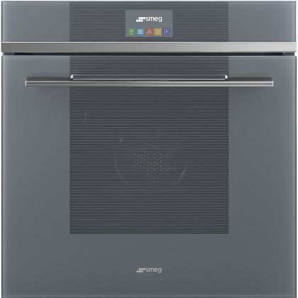 Cuptor incorporabil electric cu aburi Smeg Linea SF6104STS, Silver Glass, Vapor Clean