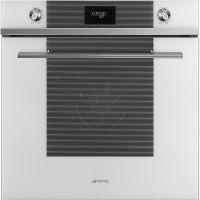 Cuptor incorporabil electric Smeg Linea SF6101VB, 60 cm, alb, Vapor Clean