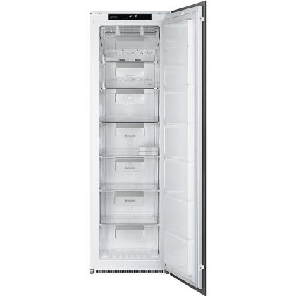 Congelator incorporabil cu o usa Smeg S7220FNDP1, A+, No Frost