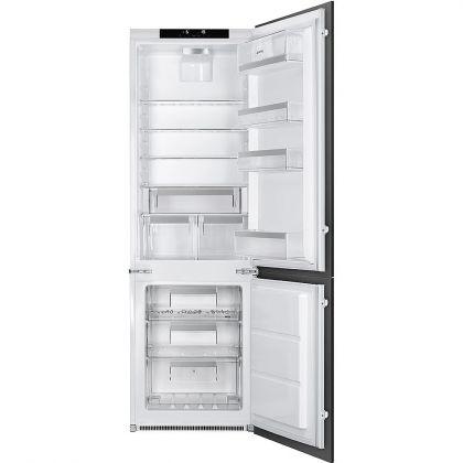 Combina frigorifica incorporabila Smeg C7280NLD2P1, A++, congelator No Frost