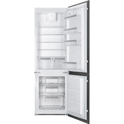 Combina frigorifica incorporabila Smeg C7280NEP1, A+, congelator No Frost