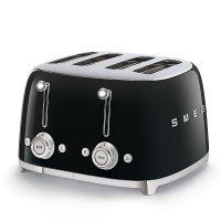 Prajitor de paine Smeg TSF03BLEU, 2000 W, negru, retro