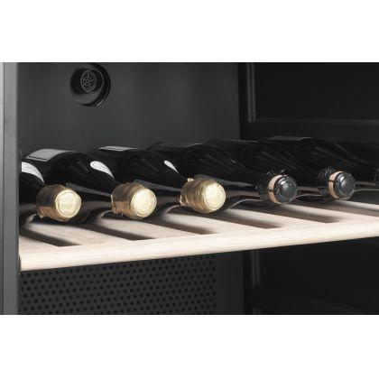 Racitor de vinuri Smeg Classic SCV115A, inox, 197 sticle, balamale dreapta