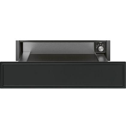 Sertar termic incorporabil Smeg Cortina CPR715A, antracit, 15 cm, 21 l