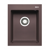 Chiuveta de bucatarie granit Pyramis ISTROS 1B 070043511, 41x50, Chocolate