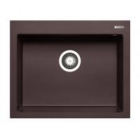 Chiuveta de bucatarie granit Pyramis ISTROS 1B 070045311, 61 cm, chocolate
