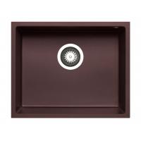Chiuveta granit Pyramis TETRAGON 50x40 1B 070066911, chocolate, montare sub blat