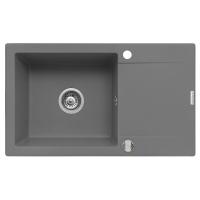 Chiuveta de bucatarie Pyramis KORFU 78x46 1B 1D Grey