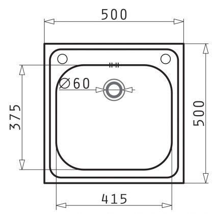 Set chiuveta Pyramis INSET 1B LN, 101051601A, inox microtexturat, 50 cm + baterie bucatarie cadou