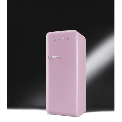 Frigider retro Smeg FAB28RRO1, roz, clasa A++