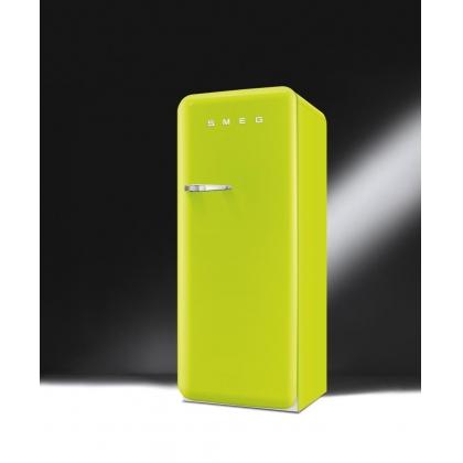Frigider retro Smeg FAB28RVE1, lime green, clasa A++