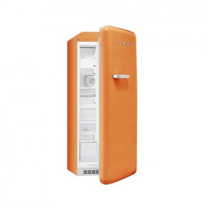 Frigider retro Smeg FAB28RO1, portocaliu, clasa A++