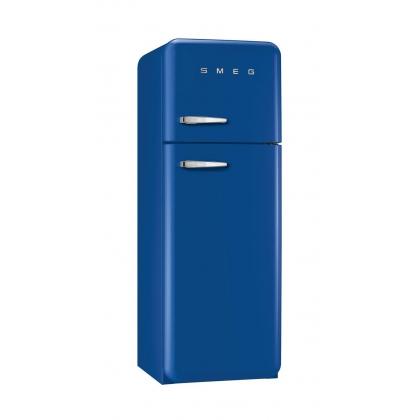 Frigider retro cu 2 usi Smeg FAB30RBL1, clasa A++, albastru inchis, ventilat
