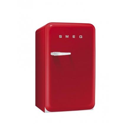 Frigider minibar retro Smeg FAB10RR, clasa A+, rosu