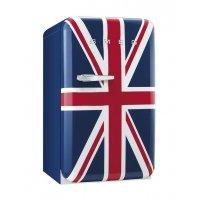 Frigider minibar retro Smeg FAB10RUJ, clasa A+, Union Jack