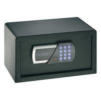 Seif de hotel Hafele 836.23.770, tastatura electronica, 350 mm h, otel, usa 5 mm, carcasa 2 mm