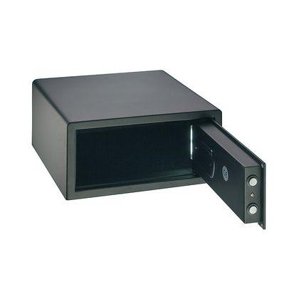 Seif de hotel Hafele 836.24.331, tastatura electronica, 405 mm h, otel, usa 5 mm, carcasa 2 mm