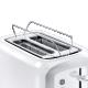 Prajitor de paine Electrolux EAT3330, alb, 940 W