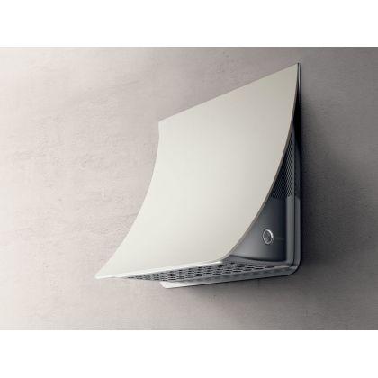 Hota de perete Elica NUAGE PAINTABLE/F/75, 75 cm, alb, 580 m3/h, culoare customizabila