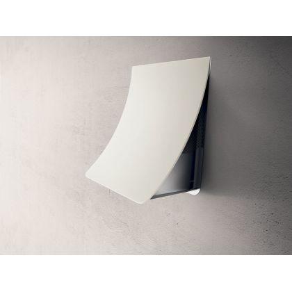 Hota de perete Elica NUAGE PAINTABLE/F/75, 75 cm, alb, 580 m3/h, culoare customizabila, recirculare
