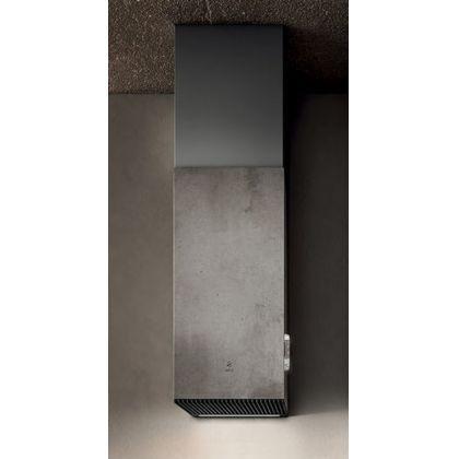 Hota semineu Elica Haiku Concrete-/A/32, 32 cm, inox cu efect ciment, evacuare