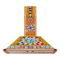 Hota semineu Smeg Dolce&Gabbana KT90DGC, 90 cm latime