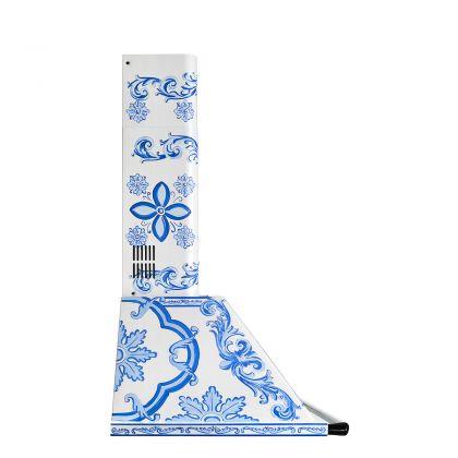 Hota semineu Smeg Dolce&Gabbana KT90DGM, 90 cm latime