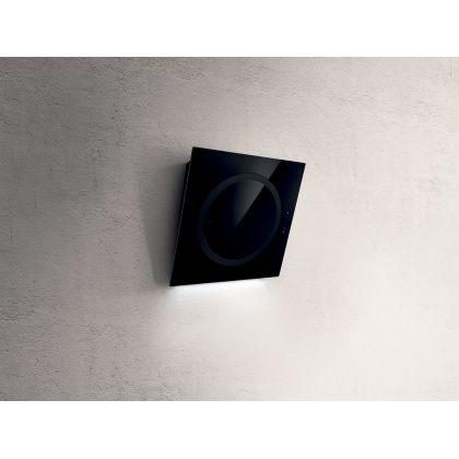 Hota de perete Elica OM AIR BL/F/75, negru, 75 cm latime