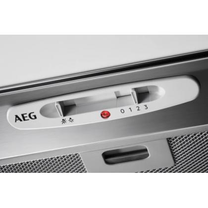 Hota complet incorporabila AEG DGB2531M, 52 cm, 440 mc/h, inox