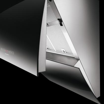 Hota de perete Faber MIRROR ART BRS X/V A80