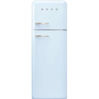 Frigider retro cu 2 usi Smeg FAB30RPB3, clasa A+++, albastru deschis, ventilat