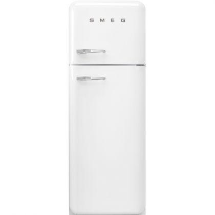 Frigider retro cu 2 usi Smeg FAB30RWH3, clasa A+++, alb, ventilat