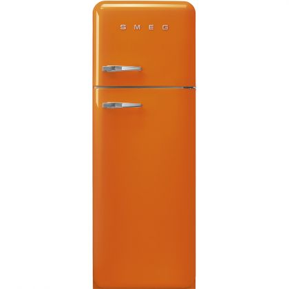 Frigider retro cu 2 usi Smeg FAB30ROR3, clasa A+++, portocaliu, ventilat