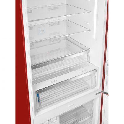 Combina frigorifica retro Smeg FAB38RRD, 70 cm latime, No Frost, clasa A++, rosu, inverter, Ice maker