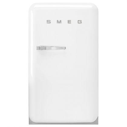 Frigider minibar retro pentru bauturi Smeg FAB10HRWH2, alb, 54 cm latime
