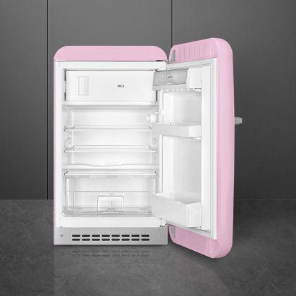 Minibar retro Smeg FAB10RPK2, roz, A++