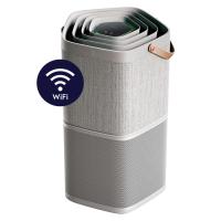 Purificator de aer Electrolux PA91-404GY, Wi-Fi & app control, Ionizare, 2 moduri operare, 5 nivele filtrare, 5 senzori, 40m2, 16,5 dB(A), HEPA, gri