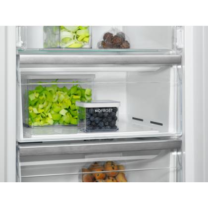 Congelator cu o usa independent Electrolux LUT5NF28U0, No Frost, 280 litri, A+, inox antiamprenta, LCD