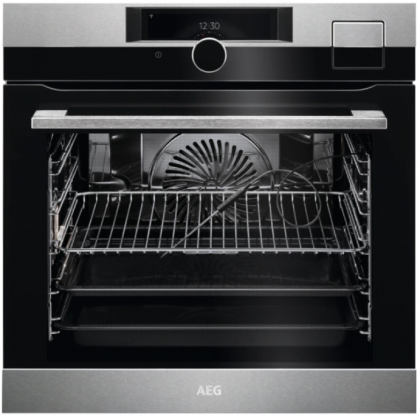 Cuptor incorporabil SteamPro AEG BSK999330M, CookView, A++, 70 l, WiFi, Steamify, FoodProbe