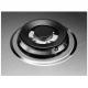 Plita incorporabila pe gaz AEG HGB64420SM, 60 cm, Wok, inox, gratare fonta, StepPower