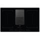 Plita inductie pe toata suprafata cu hota integrata ComboHob AEG IDK84453IB, 83 cm