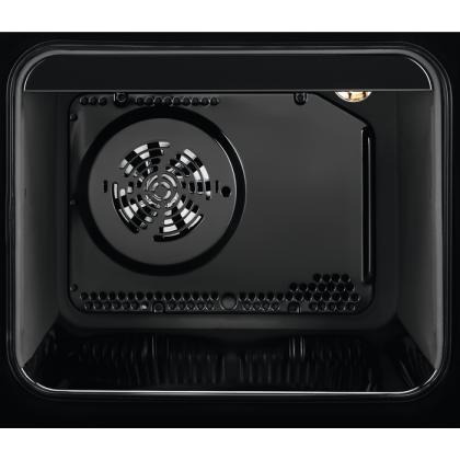 Aragaz electric Electrolux EKI54970OX, inox, autocuratare catalitica, SteamBake, AirFry, 50 cm